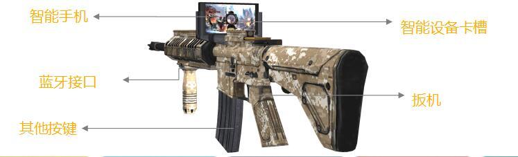 AR VR玩具枪