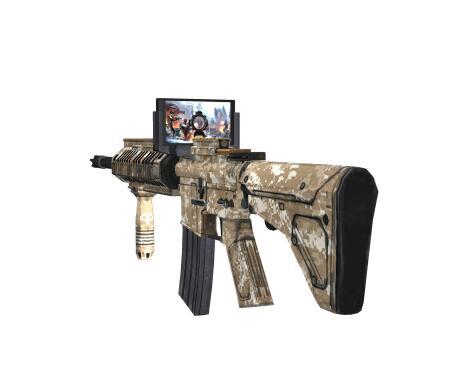 体感互动AR/VR玩具枪升级方案