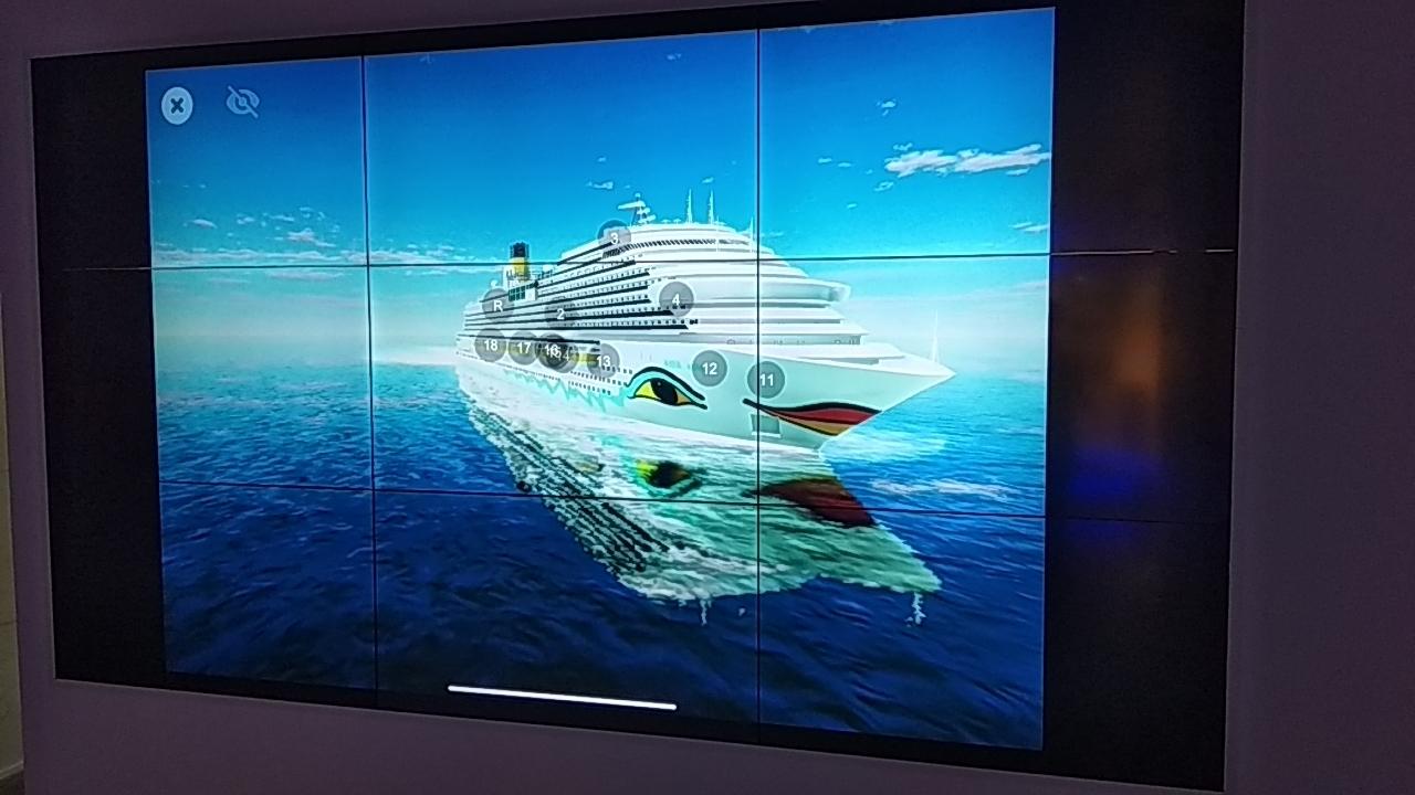我司国产豪华邮轮项目展示上CCTV报到